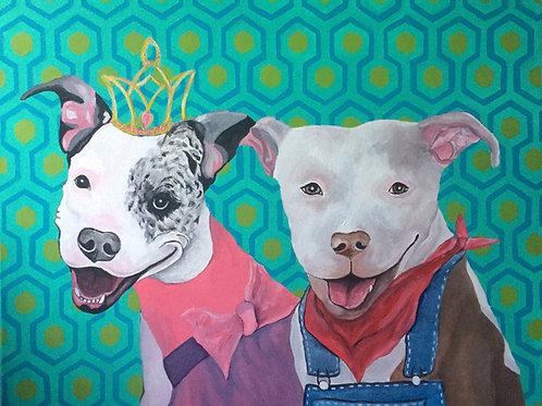 16 x 20 inch Pet Portrait