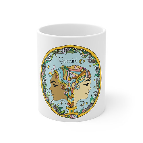 Gemini Love Mug