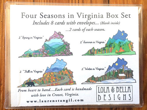 """Virginia Love"" 4 Seasons Box Set"