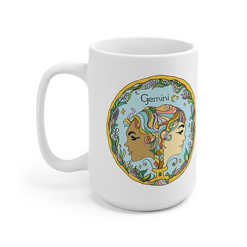 """""""Gemini LOVE"""" Ceramic Mug 15oz"""