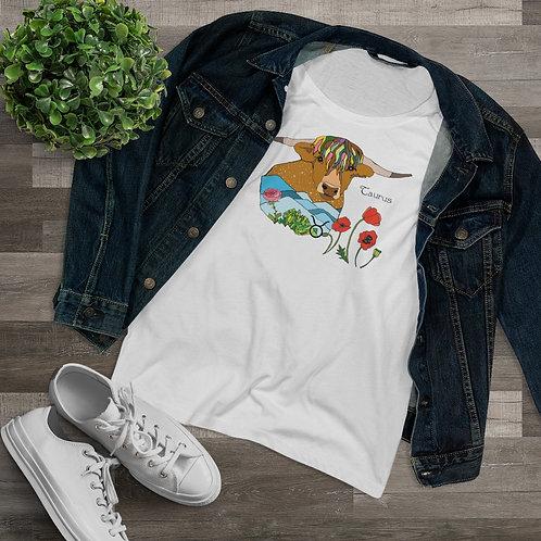 """""""Taurus LOVE"""" Organic Women's Lover T-shirt"""