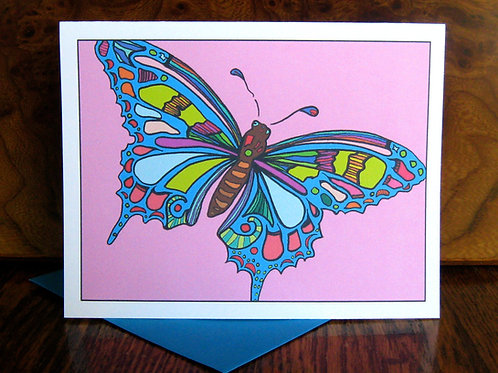 """""""Butterflly Love"""" Greeting Card"""