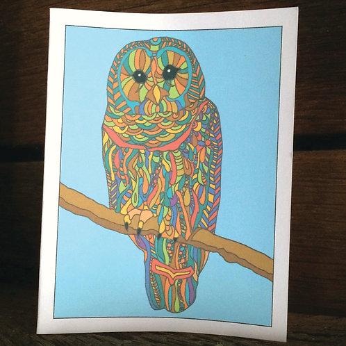 """Owl Love"" Greeting Card"