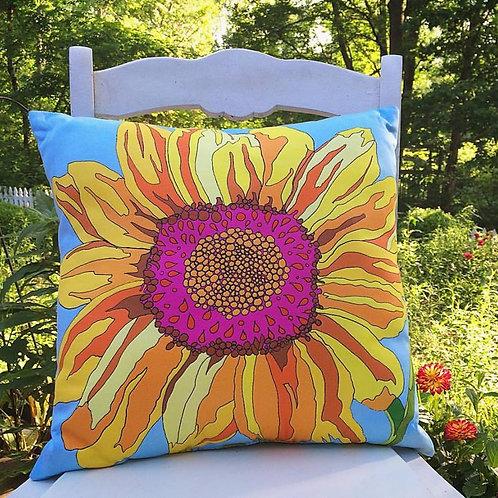 Sunflower Love - Designer Pillow