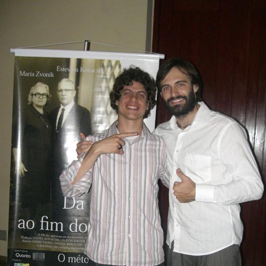 Lançamento do documentário