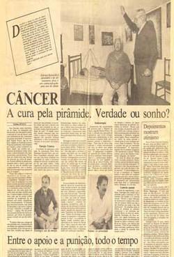 Câncer, a cura pela pirâmide. Verdade ou sonho?
