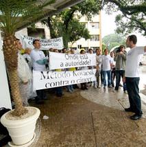 Manifestação no ICESP