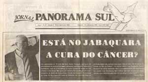 Está no Jabaquara a cura do câncer?