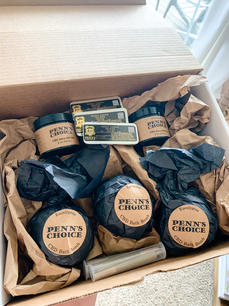 A box of our whole PENN'S CHOICE CBD Product Line