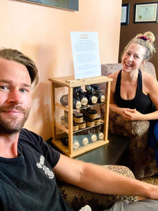Rebecca and Steve at WellSpring Community Acupuncture