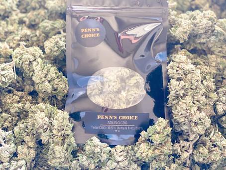 PENN'S CHOICE CBD Releases its Craft Smokable Flower Strain, Sour G CBG