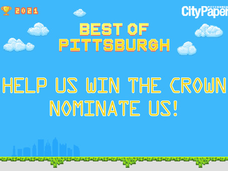 Help Us Level Up with the Best Of Pittsburgh!