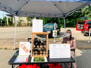 Meredith is our Farmers Market Extraordinaire and Sales Rep!