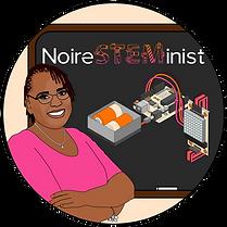 NoireSTEMinist logo