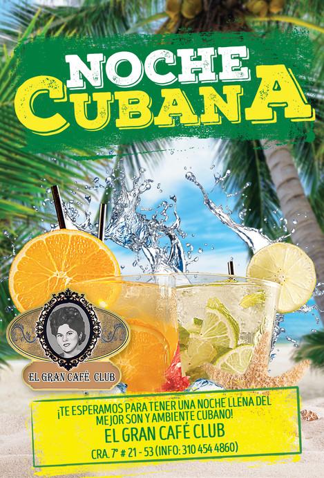 Noche Cubana - El Gran Café Club (Pereira)