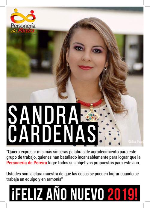 Tarjeta Año Nuevo 2019 - Personería Municipal (Pereira)