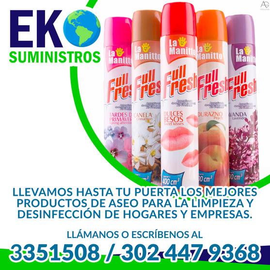 Líneas de Atención - Eko Suministros (Pereira)