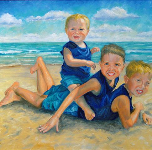 Michael, Dominic, and Nicholas
