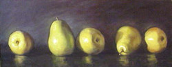 Pears in a Row