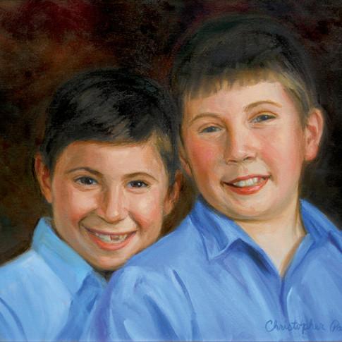 Giorgio and Troy
