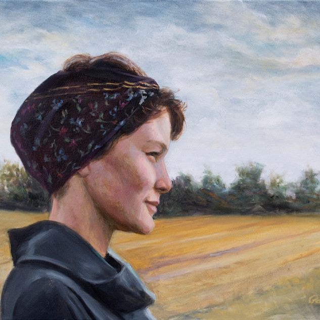 Peasant Girl in the Field