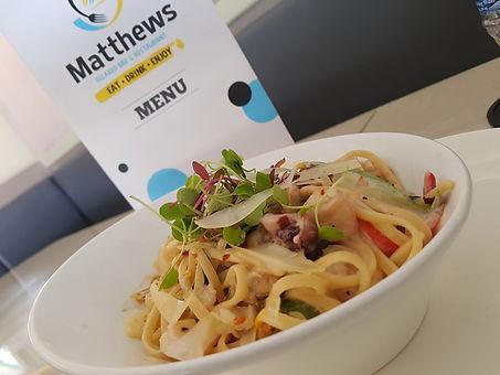 Matthews st lucia pasta