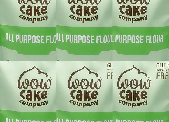 Pack of 6 Gluten Free Wow All Purpose Flour