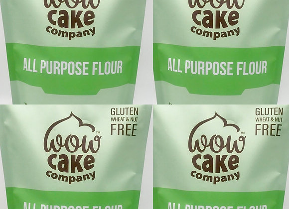 Pack of 4 Gluten Free Wow All Purpose Flour