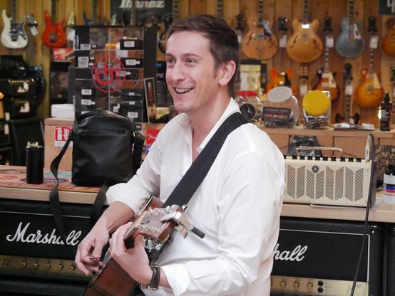 Julien Gobeaux, guitariste chanteur