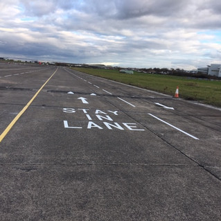 New 1 Mile Stretch of 4 Lane Carriage Way at Filton Airfield