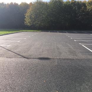 New Overflow Car Park for Yeovil Crematorium