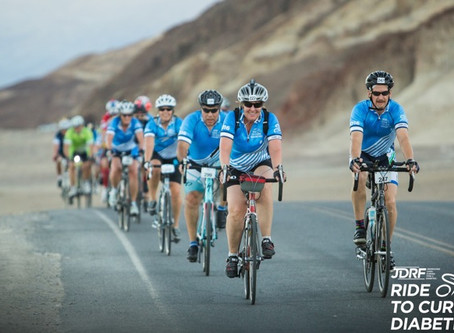 Katie Dotson Rides 100 Miles for Diabetes Research