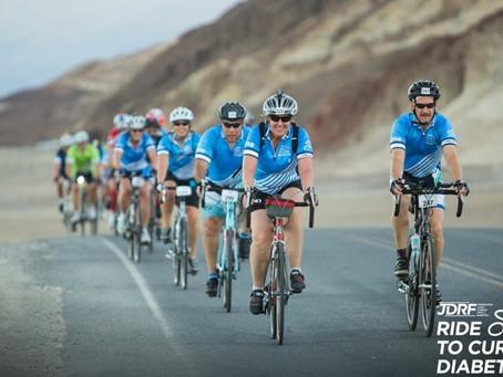 Katie Dotson Rides 100 Miles for Diabetes Research