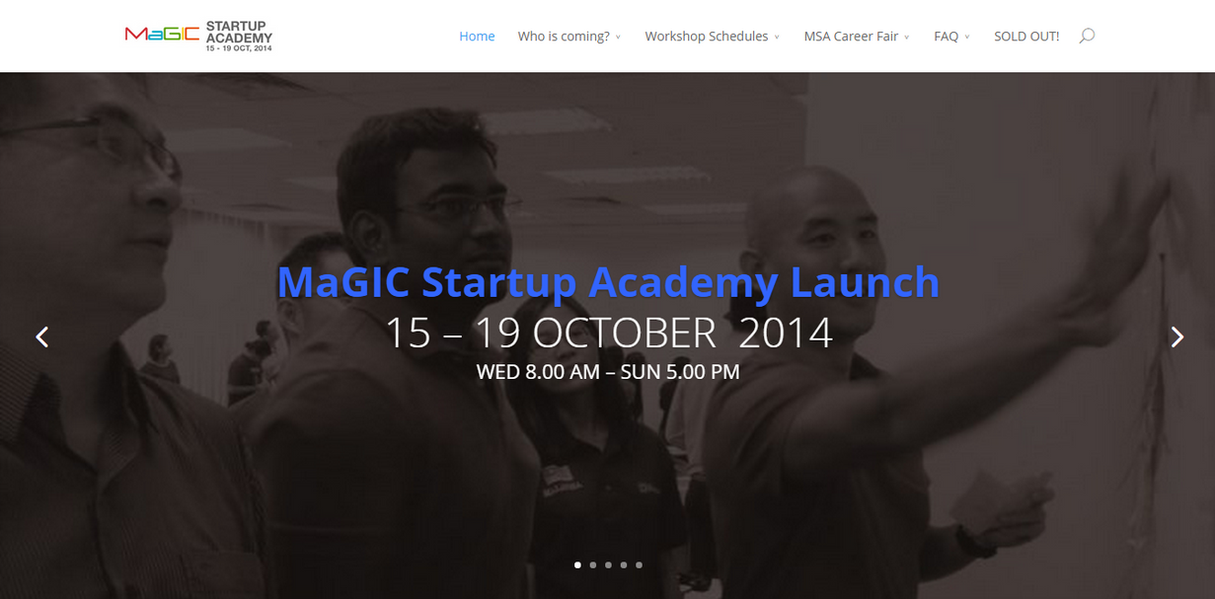I have experience covering events for media. This was a major event to launch the MaGIC Startup Academy where I was tasked to produce three reports at the end of each day's proceedings.