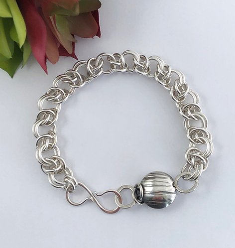 Large Venus Bracelet with Round Bead