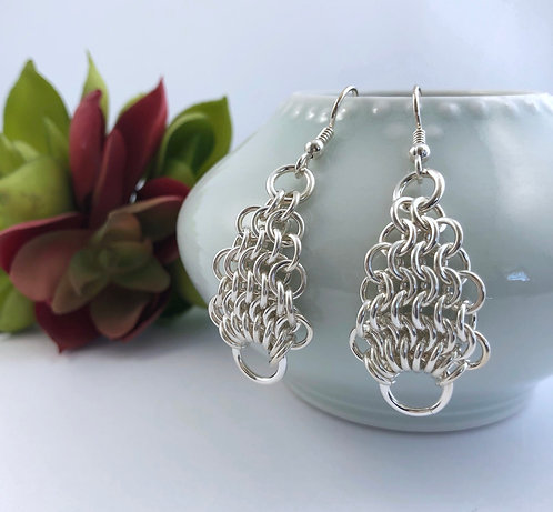 Pear Maille Earrings