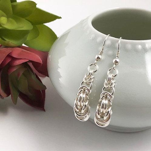 Tapered Byzantine Earrings