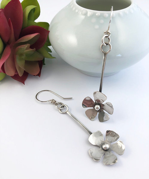 Floral Stick Earrings