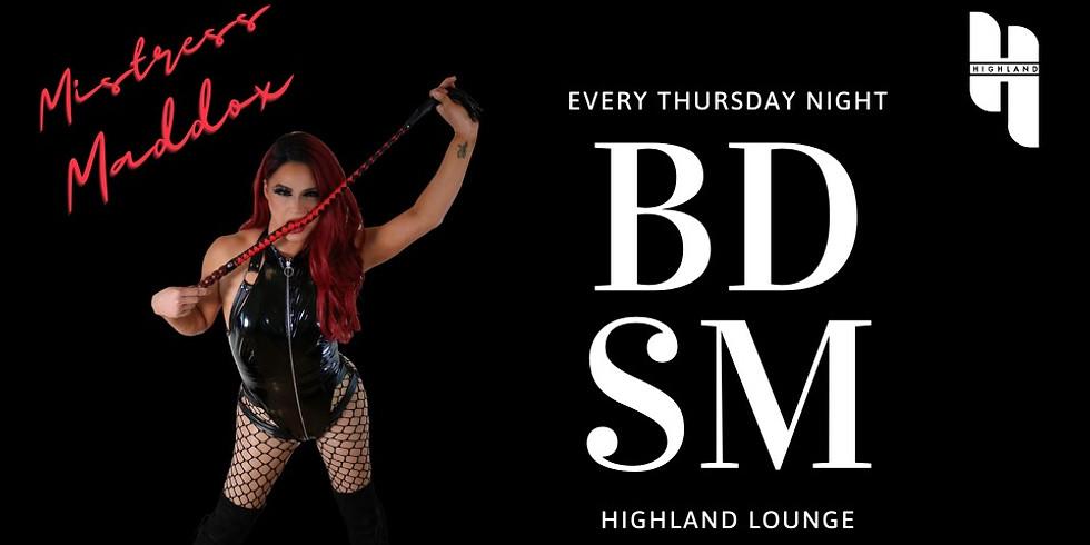 BDSM Night: Anonymity