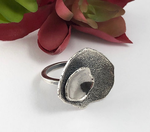 Lily Pad Statement Ring