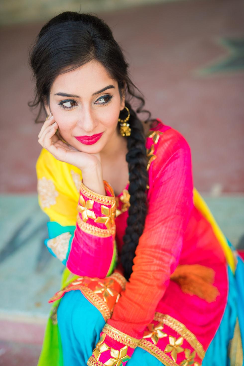 Chirag Thakur Punjabi Female Model Posin