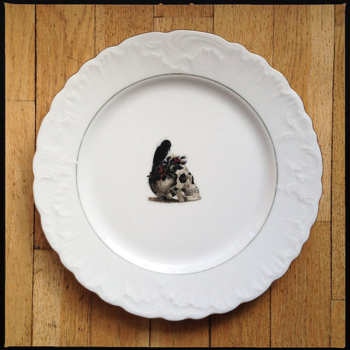 """DINNER PLATE """"From Her to Eternity"""""""