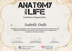 ANATOMY FOR LIFE 2013