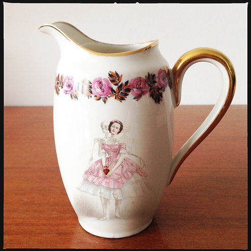 """CREAM JUG """"My Heart for a Song"""""""