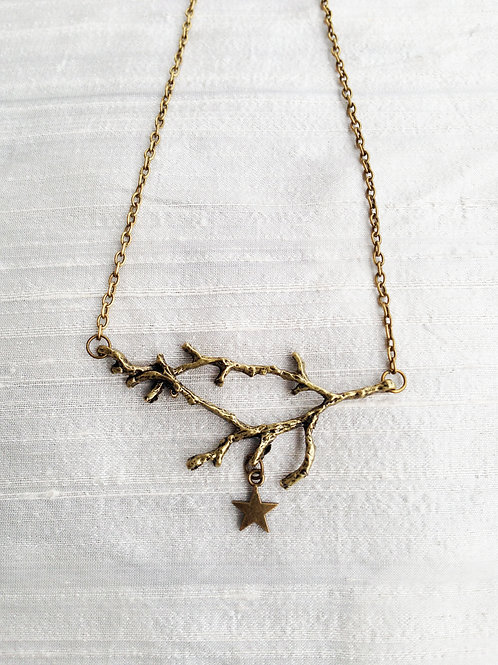 """HANGING STAR"" bronze"