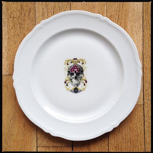 "DESSERT PLATES ""Dia de Muertos""  // 4 pieces"