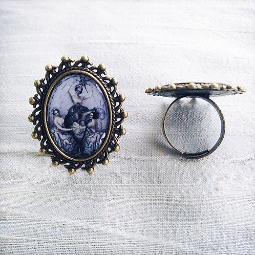 """""""HEART AND SOUL"""" ring"""