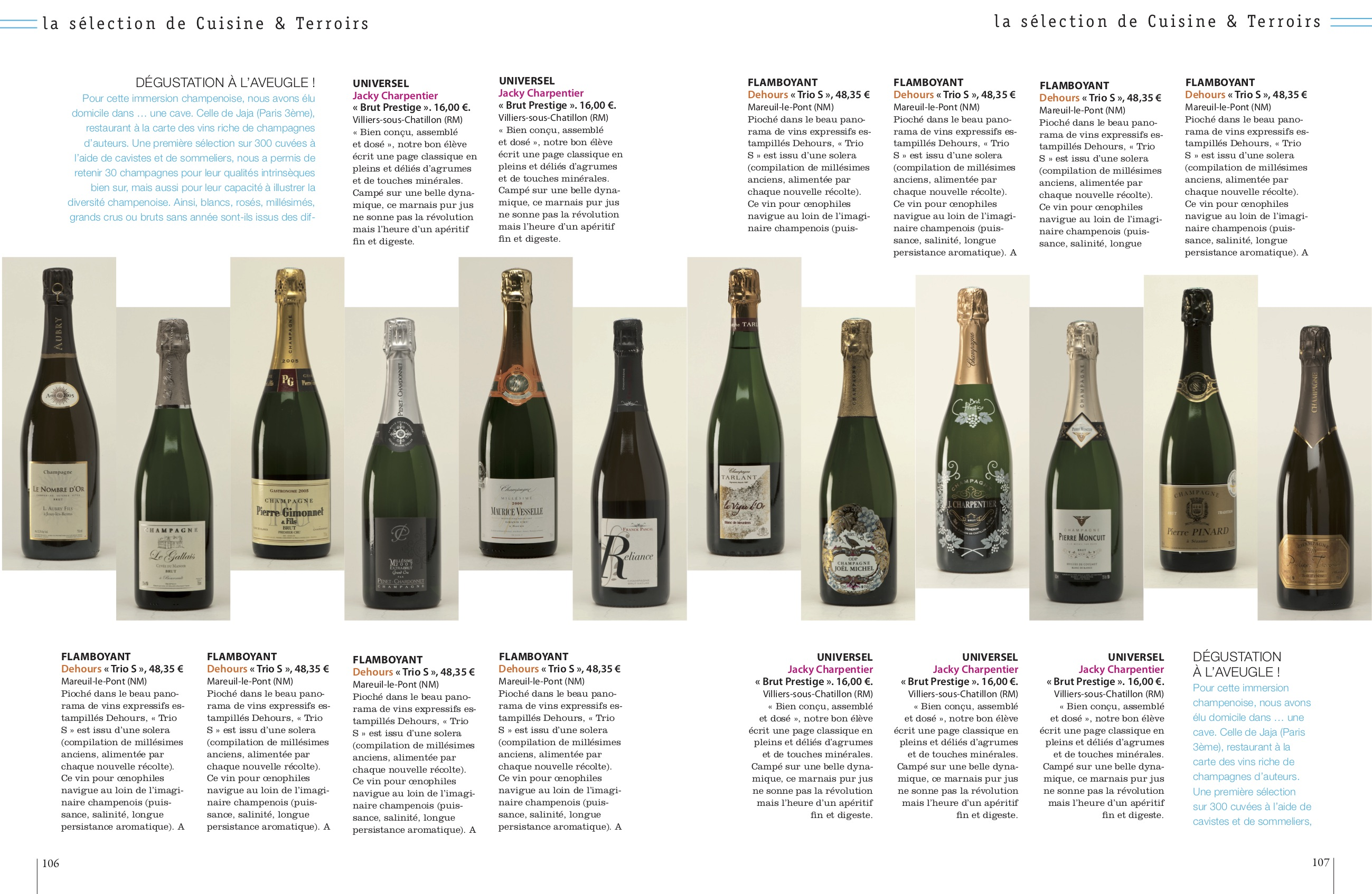 CHAMPAGNESselection