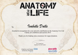 ANATOMY FOR LIFE 2015