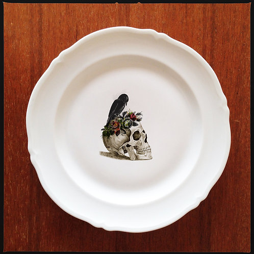 """DINNER PLATE """"For Her to Eternity"""""""